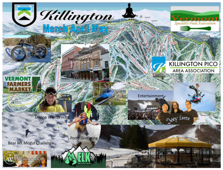 Killington Event Map
